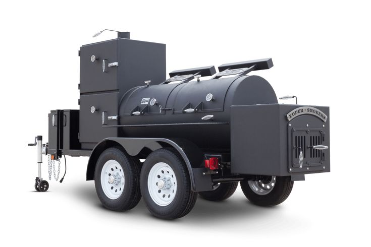 ServiceMaster Custom #BBQ Trailer | Yoder Smokers Blog #TeamYoder #WhyIYoder