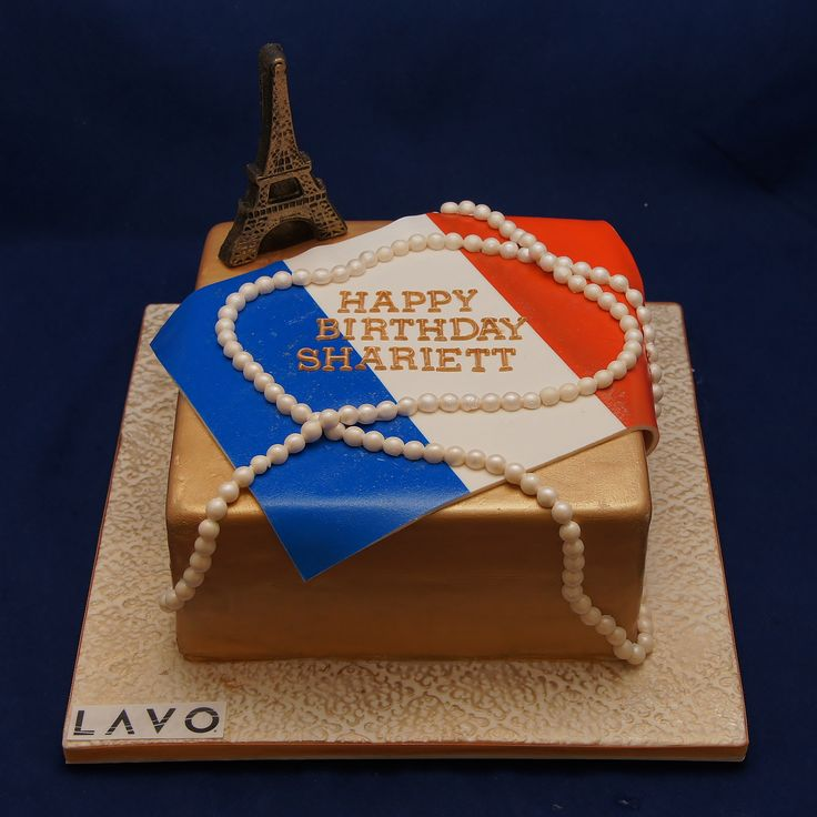 Shariett party theme is Bastille Day at LAVO NYC, French national holiday
