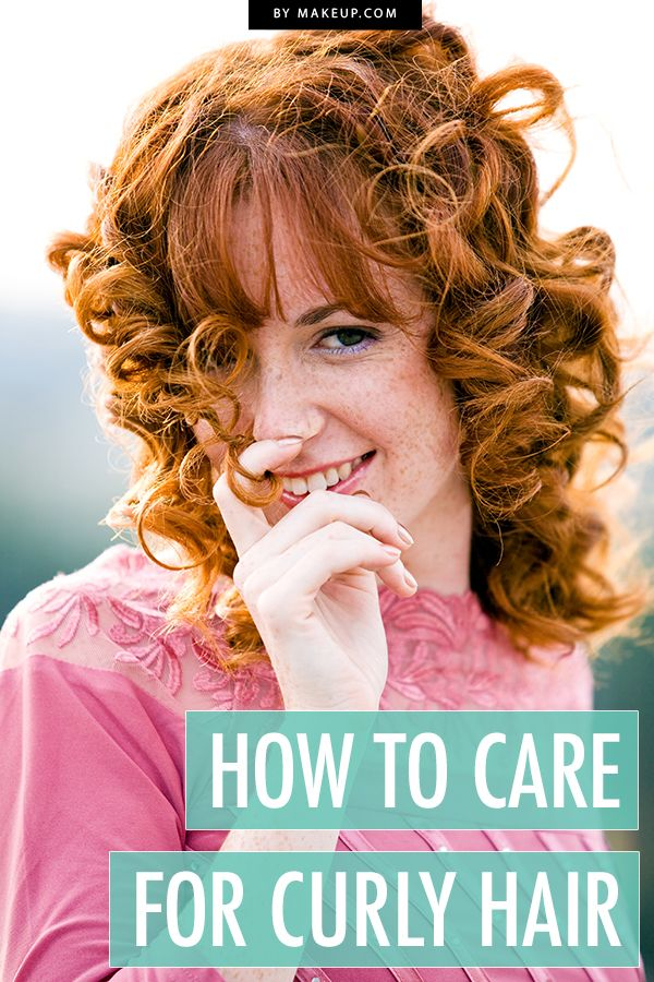 The best way to care for curly hair