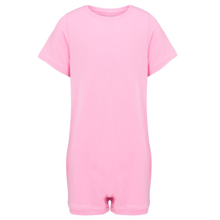 KayCey SUPER SOFT Bodysuit - Short Sleeve - PINK    http://specialkids.company/