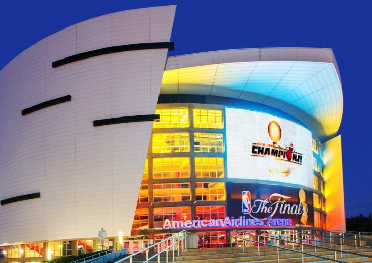 American Airlines Arena  - Home of the Miami Heat (Miami, Florida)