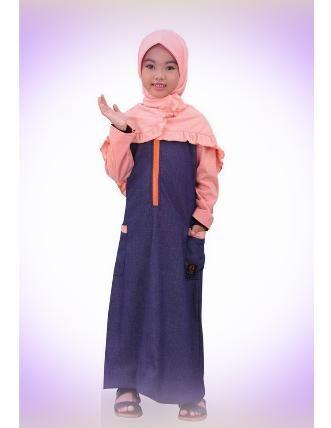 Beli Baju Dress Anak Qirani Kenanga 84 Peach dari Aprilia Wati agenbajumuslim - Sidoarjo hanya di Bukalapak