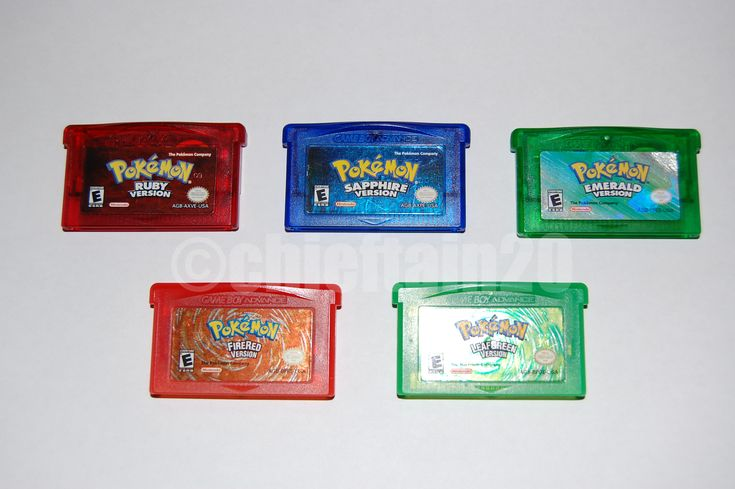 Complete Guide to Authentic GBA Pokemon Games
