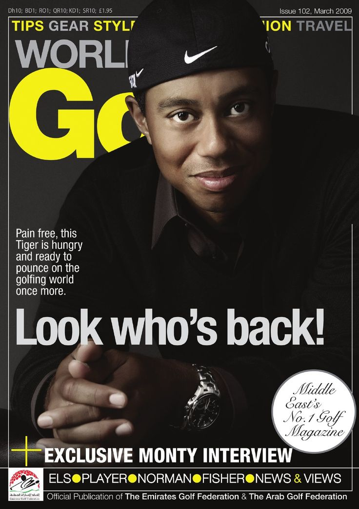 #ClippedOnIssuu from Worldwide Golf - Tiger Woods is back!
