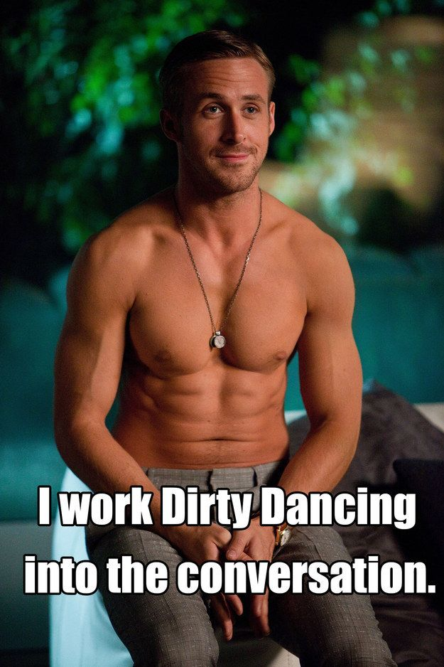 Ryan Gosling as Jacob Palmer in Crazy, Stupid, Love. | 15 Movie Quotes You Never Knew Were Ad-Libbed