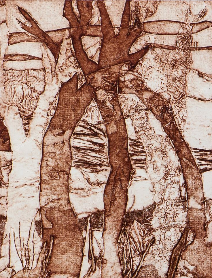 Handmade collograph print available for sale on my website.