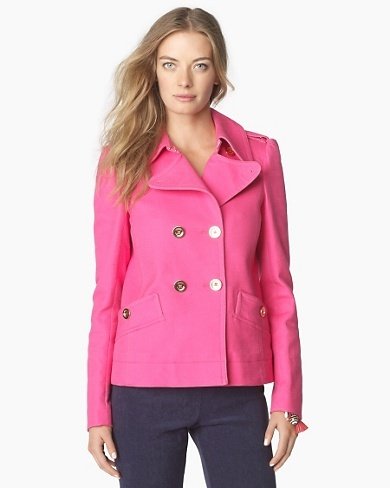 lovee: Women'S Jackets, Pink Jacket, Juicy Couture, Spring Fashion, Jacket Juicy, Beautiful Pink, Coats And Jackets, Designer Clothing