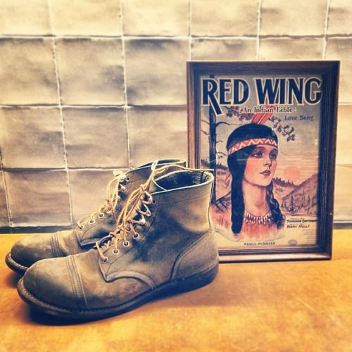 An Indian Fable Love Song #myironrangers Share us yours! | Red Wing Shoes 8113 Iron Ranger Hawthorne Muleskinner | available at http://ift.tt/180OFjM | #redwing #redwings #redwingshoes #redwingamsterdam #usbootsfreak #navajo #myironrangers...