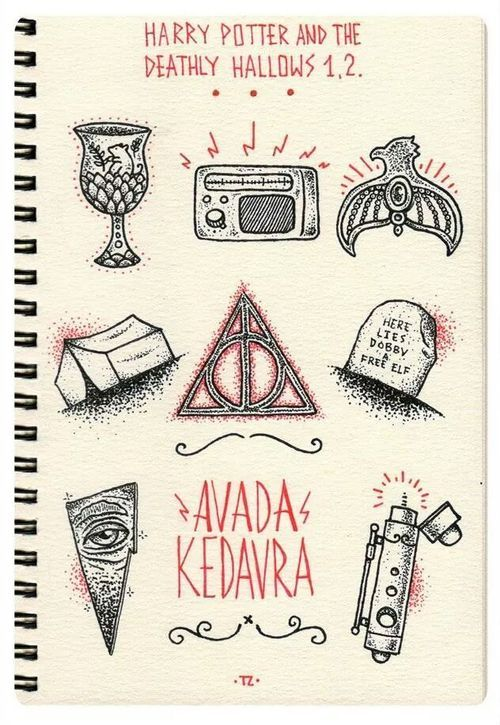 542 best images about harry potter and the deathly hallows for Hallowed ground tattoo
