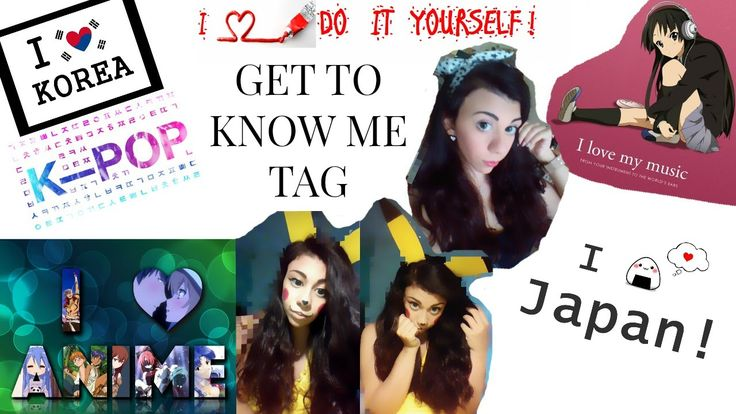 ♥ TAG! Get To Know Me!   DimitraDIYLover ♥