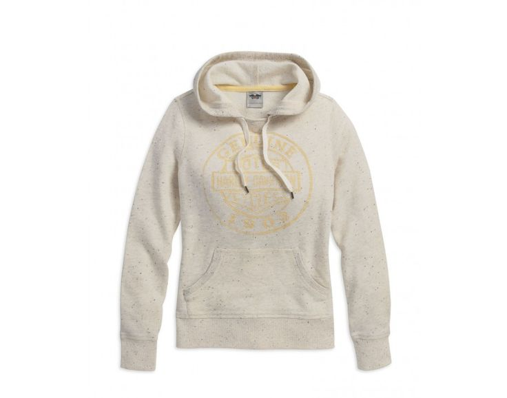 SPECKLED PULLOVER HOODIE
