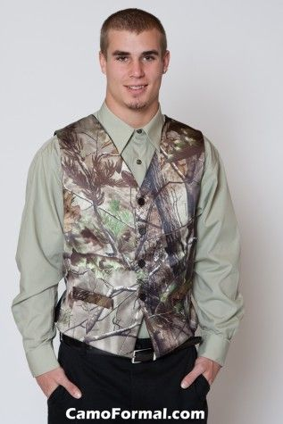 Men's Vest in APG. This with a white shirt and color tie...perfect for my wedding