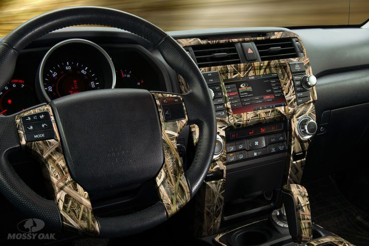 Accent the inside of your ride in Mossy Oak camo with this new Auto Interior Skin