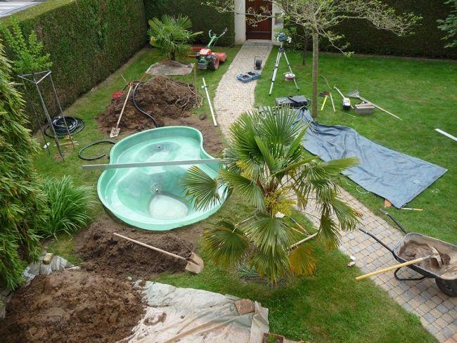 les 25 meilleures id es concernant bassin pr form sur pinterest bassin de jardin pr form. Black Bedroom Furniture Sets. Home Design Ideas