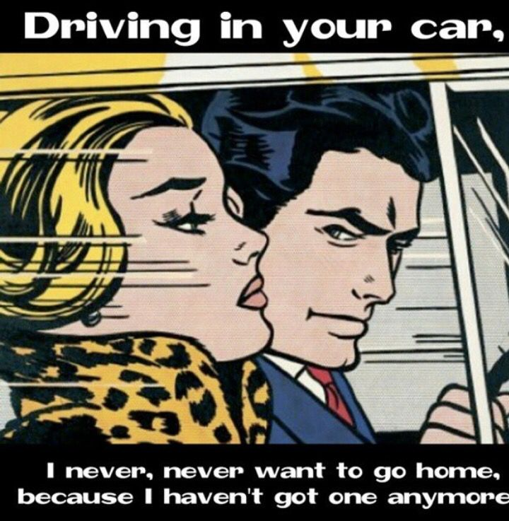 Driving In Your Car Lyrics Smiths