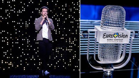 Sverige i Eurovision 2016: Frans – If I Were Sorry - Melodifestivalen   SVT.se