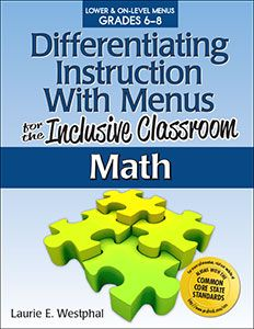 """differentiation learning styles and inclusive education Inclusive education & differentiated instruction 9 has been determined, is a supportive and communal atmosphere where all """"students are educated in general education classrooms with their peers to the greatest extent possible"""" (chriss walther-."""