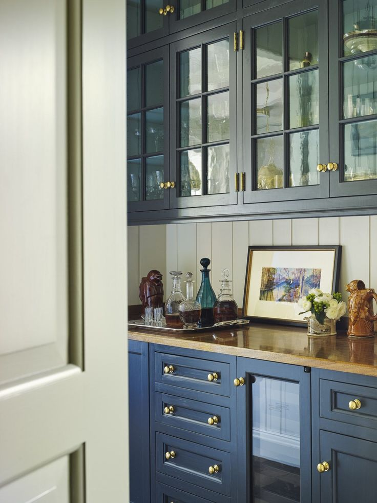 More Navy Blue Kitchen Inspiration.