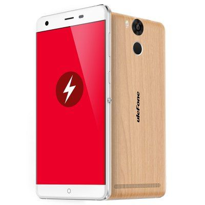Wholesale Ulefone Power 6050mAh Android 5.1 5.5 inch 4G Phablet FHD 2.5D Screen MTK6753 64bit Octa Core 1.3GHz Fingerprint Scanner 3GB RAM 16GB ROM 5.0MP + 13.0MP Cameras (WOODEN VERSION)   Everbuying