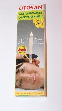 http://earcandles.org.uk/Otosan-Ear-Cones.html  Otosan have a unique built in comfy applicator system which makes them extremely comfortable when in your ear. They also have a flame breaking ring whichhelps to extinguish the candle once it gets down to a red line on the cone itself.