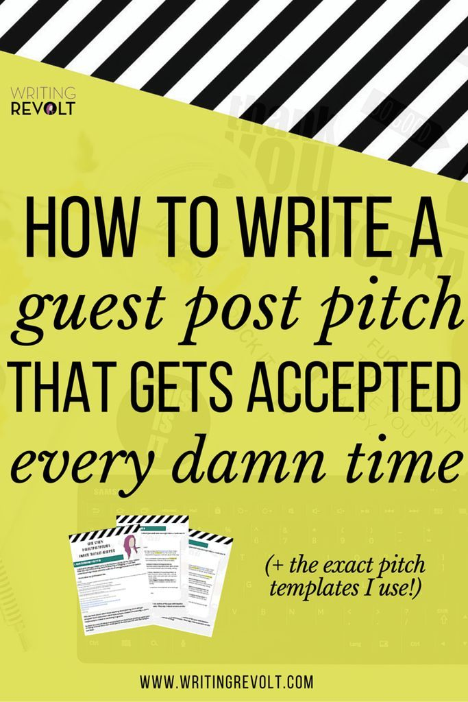 how to write a media pitch for an event