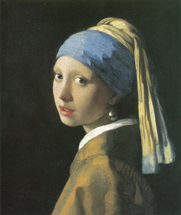 Johannes VermeerJohannes Vermeer, Unique Things, Earrings 1665, Pearl Earrings, Pearls Earrings, Oil Painting, Painting Girls, Amazing Photos, Pearls Eres