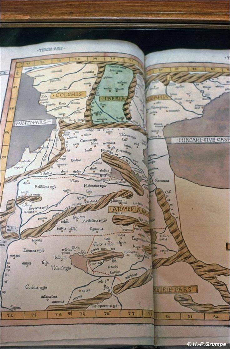 Matenadaran: Karte von Armenien