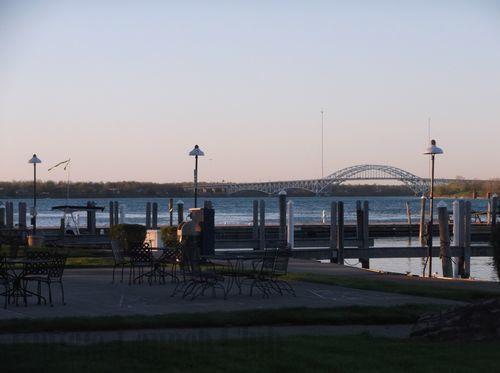 A view of the Grand Island Bridge from the Buffalo Launch Club docks is picture perfect during your special event.