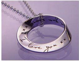 #signals.com              #love                     #Love #More #Mobius #Necklace                       I Love You More Mobius Necklace                                               http://www.seapai.com/product.aspx?PID=281254