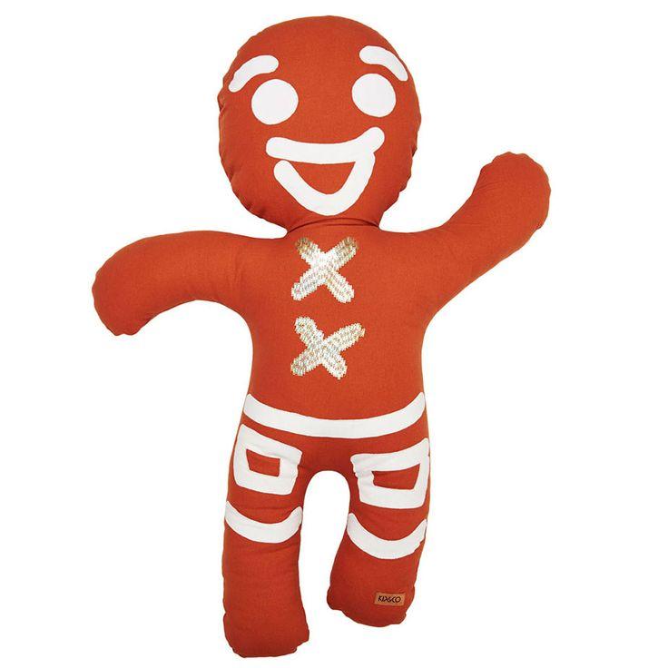 Kip & Co   SS15 Gingerbread Cushion