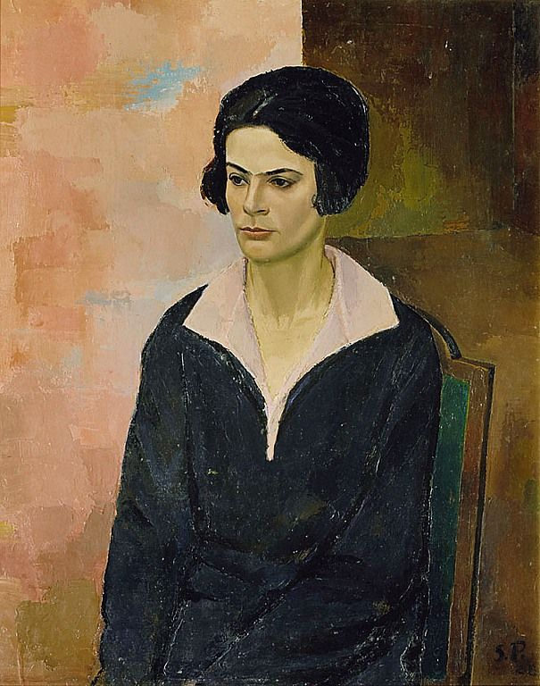 Sergius Pauser - Leopoldine Huber, 1927,
