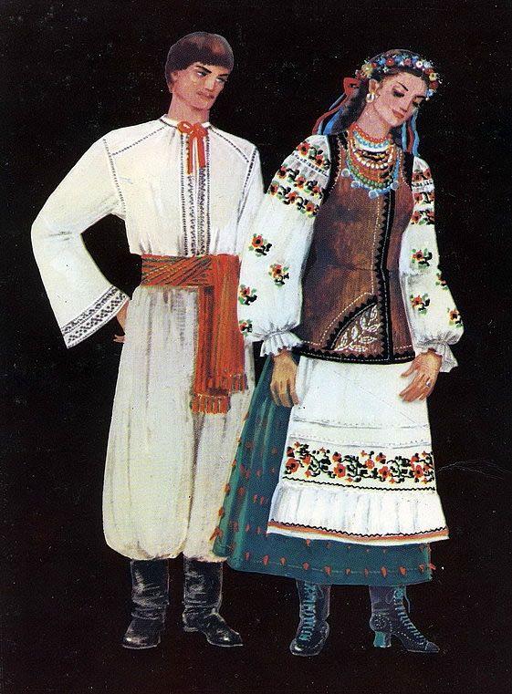 Traditional Costume Ukraine. Poltava. Украинский национальный костюм. Восточная Украина, Полтава