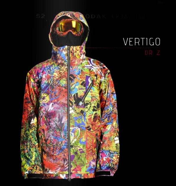 "Urban Camouflage ""Vertigo"" - Snowboard/Ski Jacket $310   Designed by DrZ for FUEL Clothing's upcoming 2014 Winter Line."