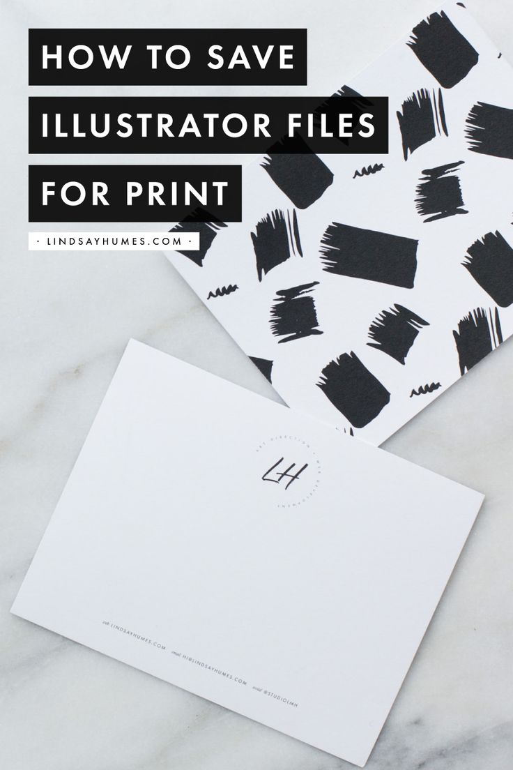 How to Save Adobe Illustrator Files for Print