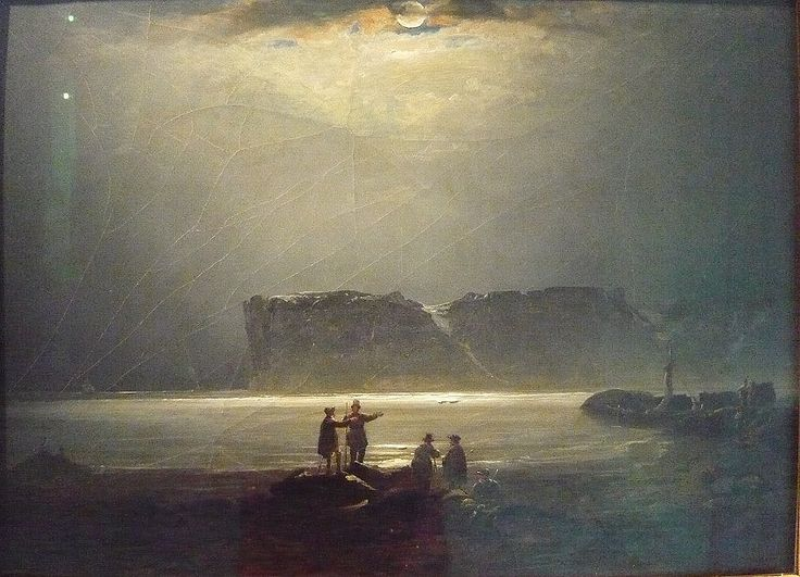 Peder Balke, View from the North Cape (1847