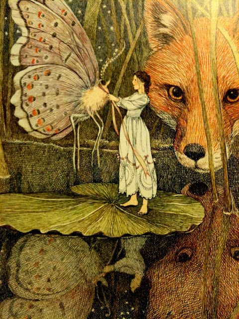 Thumbelina - Illustration by Susan Jeffers