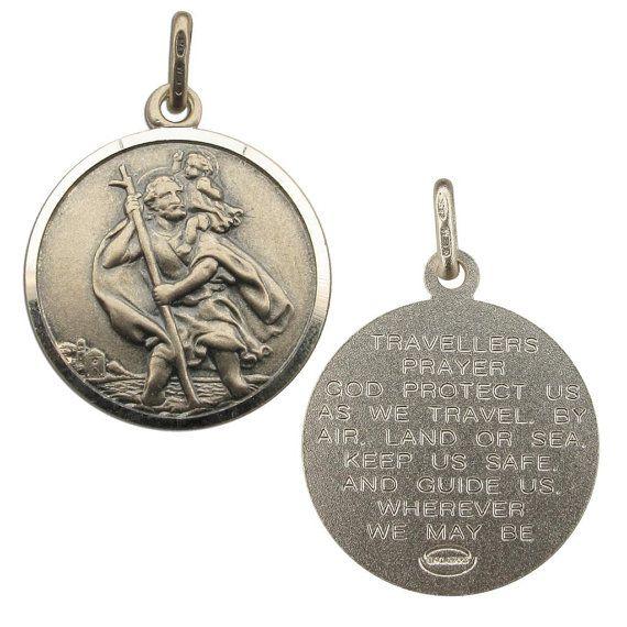 Antique Silver St Christopher Traveller's by christopherjamesuk