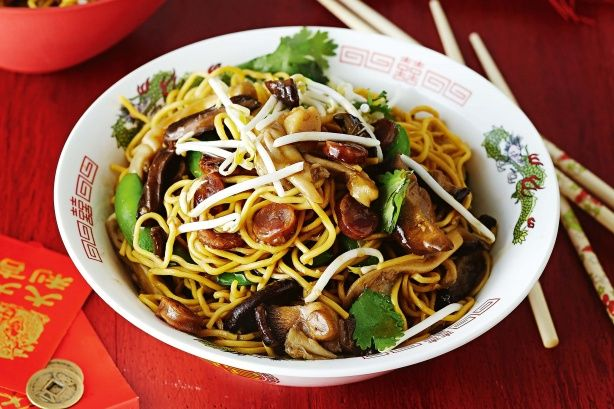 Longevity Noodles   Celebrate Chinese New Year with these delicious dishes, promoting health, prosperity and luck for the year ahead. Noodles represent a long life, so the longer, the better – it's bad luck to cut them when making Longevity noodles.