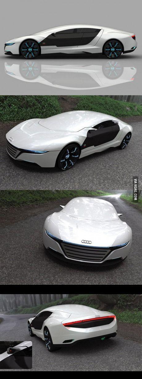 Das neue Audi A9 Designkonzept – #A9 #Audi #Das #Designkonzept #neue