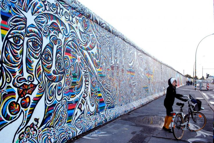 Berliner Mauer Street Art #Berlin #EastSideGallery More information: visitBerlin.com