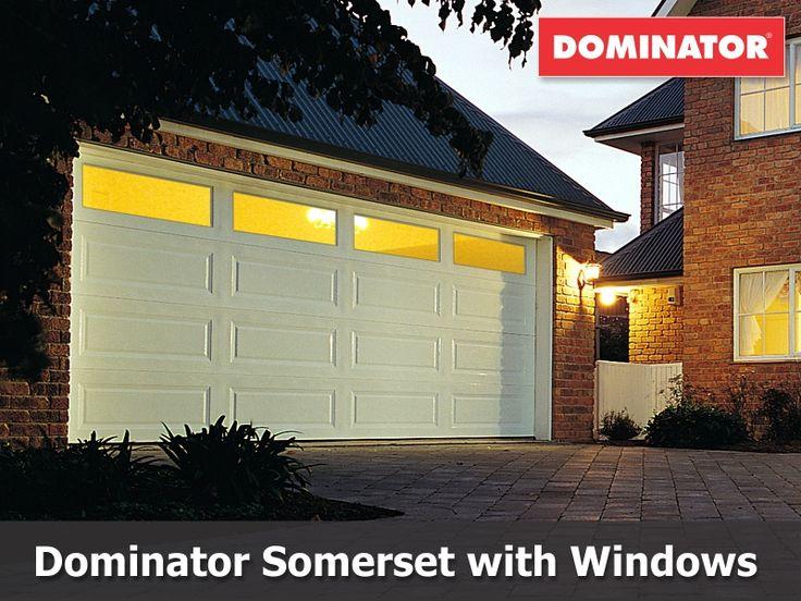 Dominator Somerset Sectional Door with Windows