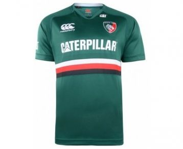 """Designed to reflect """"the long-standing heritage of the most successful club in English rugby"""", Canterbury continues to revolutionise the rugby shirts technology. The new 2013/14 Leicester Tigers home shirt is now available at ActivInstinct: https://www.activinstinct.com/rugby/replica-shirts/adult-club-shirts/leicester-tigers-adult-home-pro-short-sleeve-rugby-jersey/"""