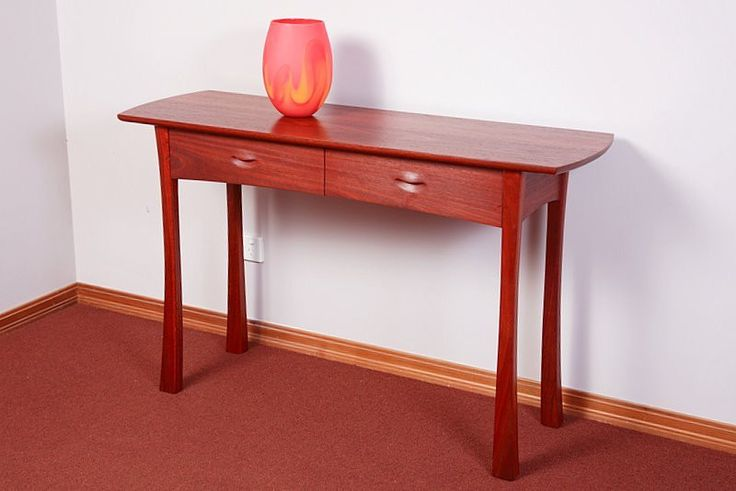 Jarrah Hall Table   Australian Woodwork - FREE Gift Wrapping - FREE Handwritten Gift Card - Fast Same Day Shipping - FREE Shipping for orders over $100 - Our usual Money Back Quality Guarantee!