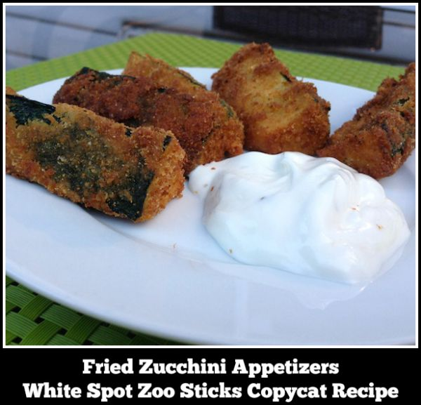 Fried Zucchini Appetizers – A White Spot Zoo Sticks Copycat Recipe I don't care for zucchini. Therefore, I don't make zucchini. Hubby loves zucchini. Do you see a situation here? If I want to be nice and make the hubby [...]