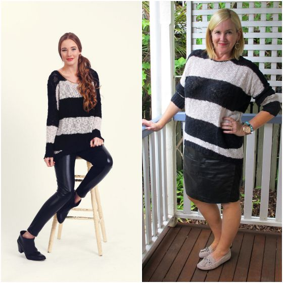 The Model and Me: Elm Knitwear