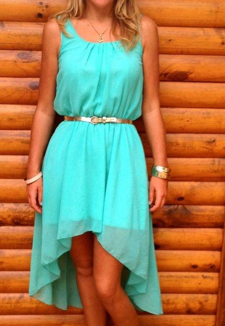 Green Dress Found Online