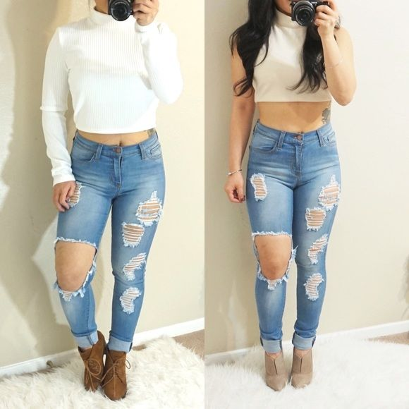 8 best images about Jeans on Pinterest | Skinny jeans, Fashion ...