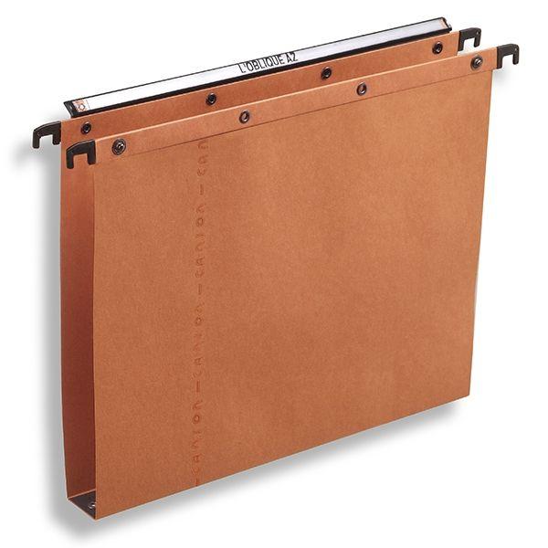 Elba AZO Ultimate hangmappen Folio - 365 mm met 30 mm bodem oranje  |  De Elba AZO Ultimate hangmappen (folio-formaat) met 30 mm-bodem zijn geschikt voor gebruik in archieflades. Elba archiefmappen zijn vervaardigd uit stevig karton met katoenvezels. Zo kan elke hangmap tot 350 vel A4 dragen. De hangmappen zijn voorzien van drukknopen voor het koppelen en een duidelijke vergrotende ruiter voor het indexeren.
