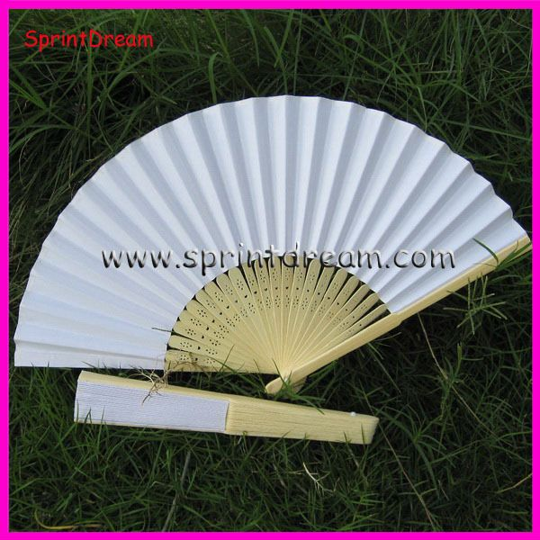 wedding hand fans