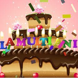 Un tort cu mesajul La multi ani, decorat cu lumanari si artificii, iar atmosfera de sarbatoare e intregita de o ploaie de confetti. http://ofelicitare.ro/felicitari-de-la-multi-ani/la-multi-ani-749.html